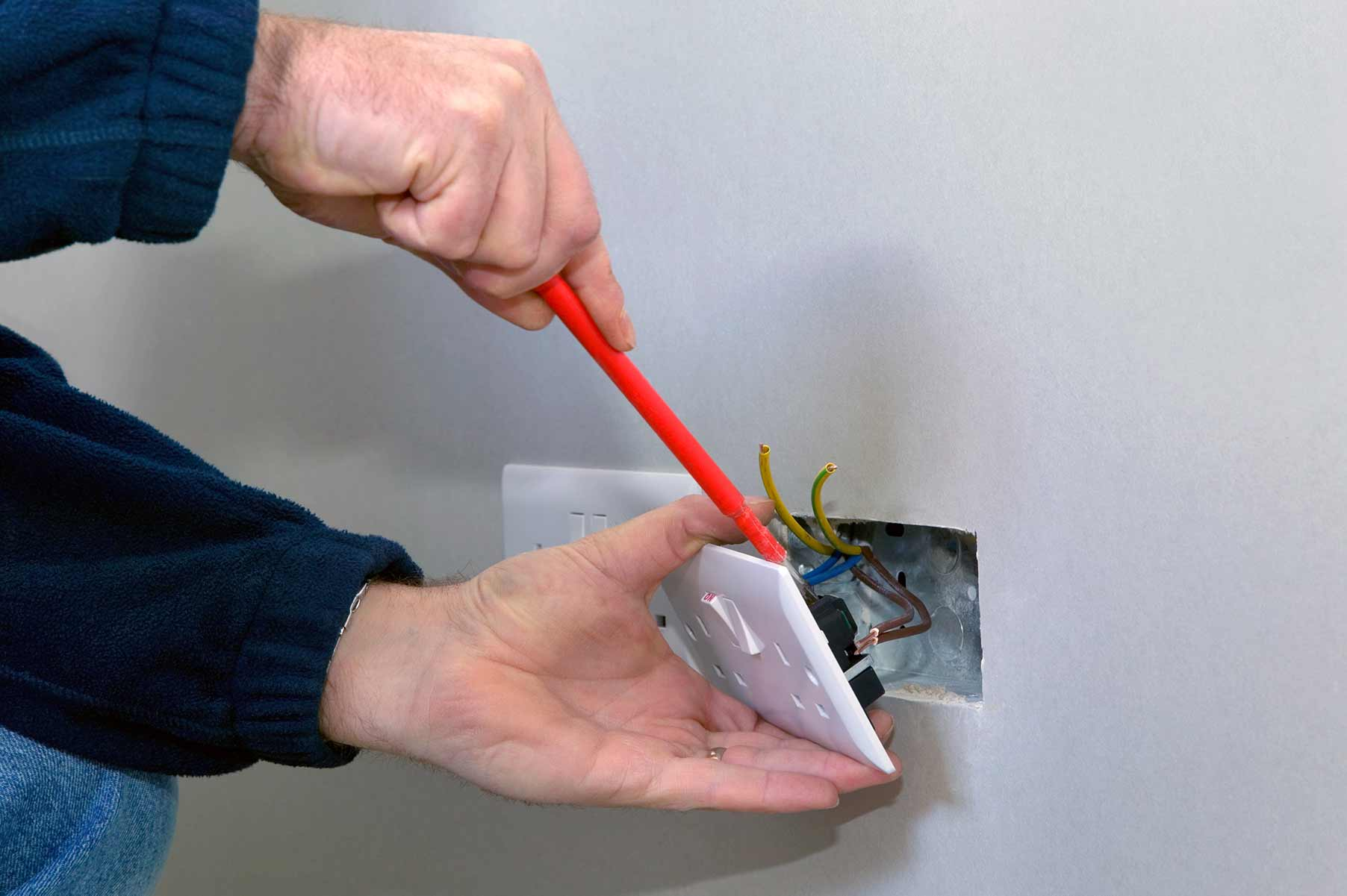 Our electricians can install plug sockets for domestic and commercial proeprties in Bexleyheath and the local area.